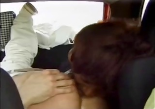 crazy swarthy mom fuckin in the car and outdoor