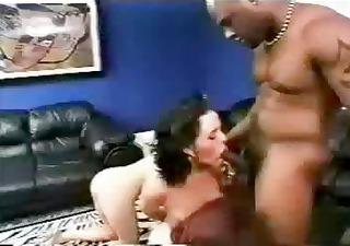 Cuckold husband has wife goes black !