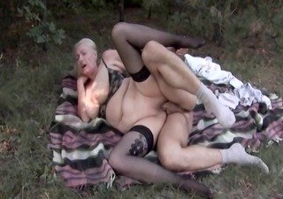 in the german woods 7 - the granny outdoors