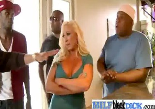 Hardcore Interracial Sex With Sexy Busty Milf