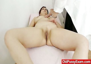 redhead madam interior piss aperture medical-tool