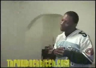 ghetto bawdy cleft flood his room gang member