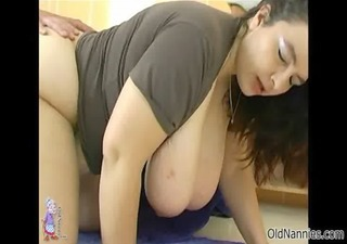 concupiscent mature woman goes insane riding