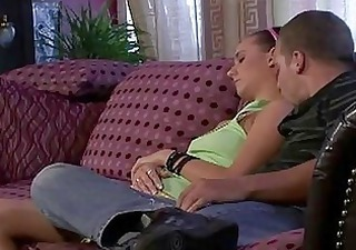 Horny Mom Licks Sleeping Girlfri...